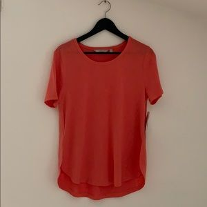 Athleta Coral Breezy crewneck Tee